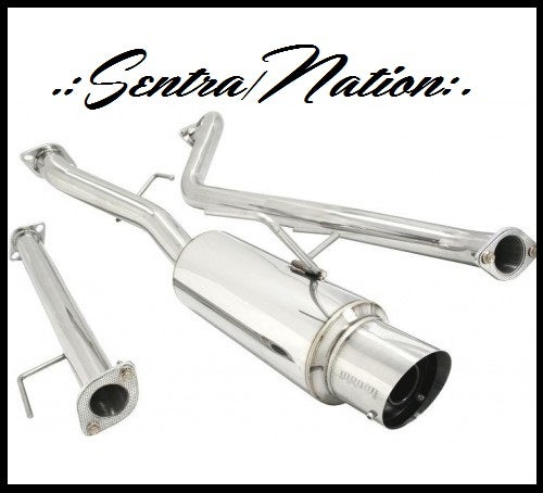 Image of (B15) Performance Catback Exhaust 02-06 SE-R & Spec V