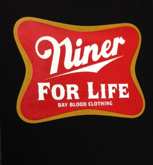 Image of NINER FOR LIFE HOODIE (black)