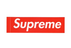 Image of Supreme Box Logo Sticker