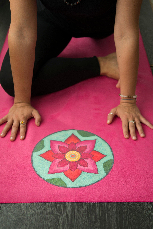 with en pilates mats yoga towel tpe yatra microfaser beschichtung taoline shiatsu coating oakworks pink mat bodynova massage microfiber tables