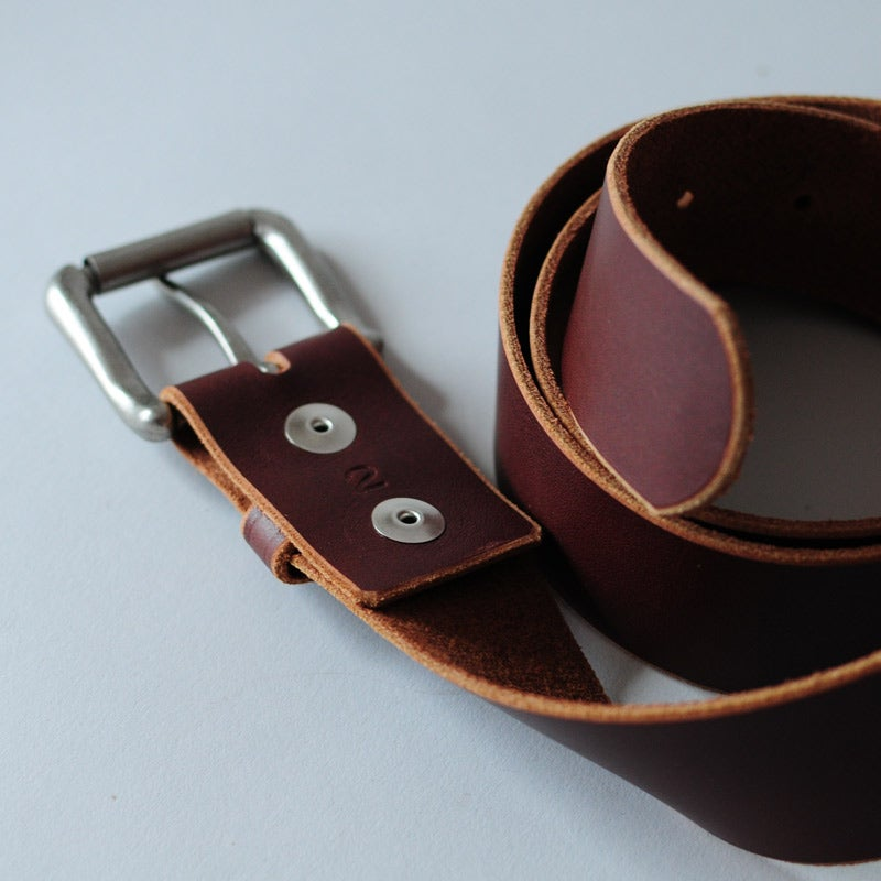 Image of Friston Belt - Horween® Latigo Italian Brown
