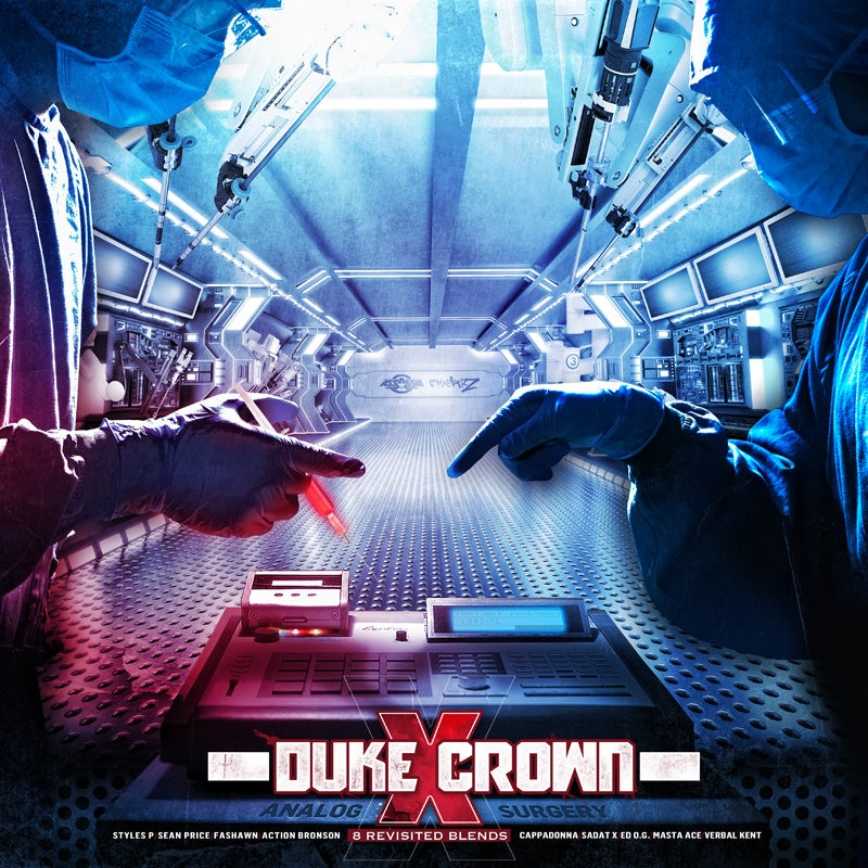 "Image of DUKE X CROWN 12 INCH COLOR RECORD VINYL ""ANALOG SURGERY """