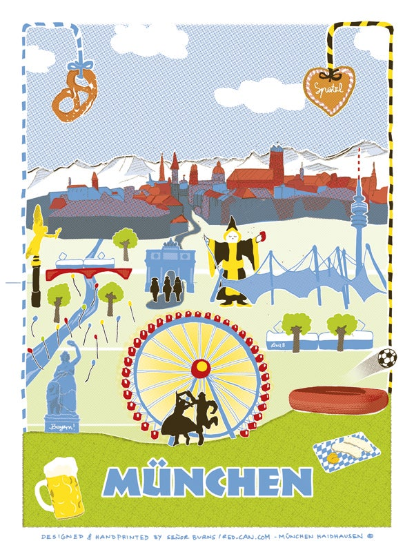 Image of MÜNCHEN (postcard)