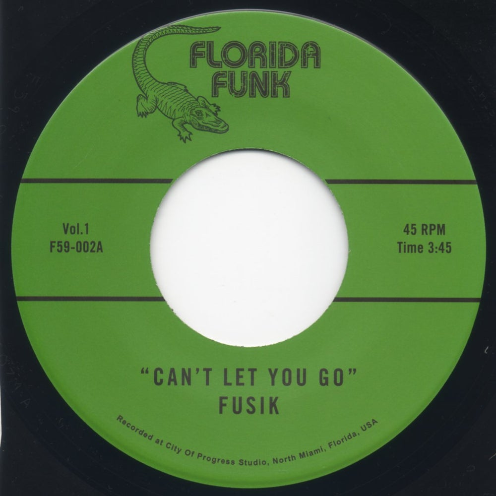 "Image of Can't Let You Go / Amen Sister - 7"" Vinyl"