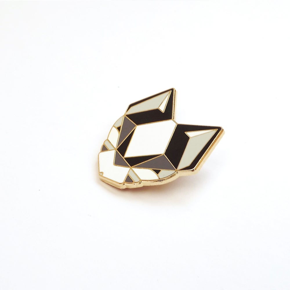 Image of BLACK CAT BROOCH