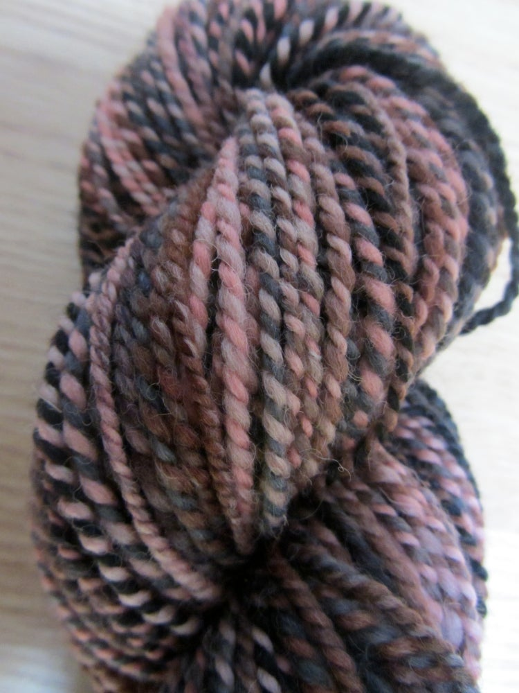 Image of Handspun Yarn: Tattooed Lady