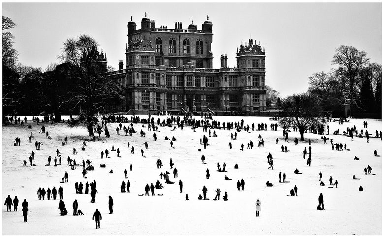 Image of Wollaton in the snow