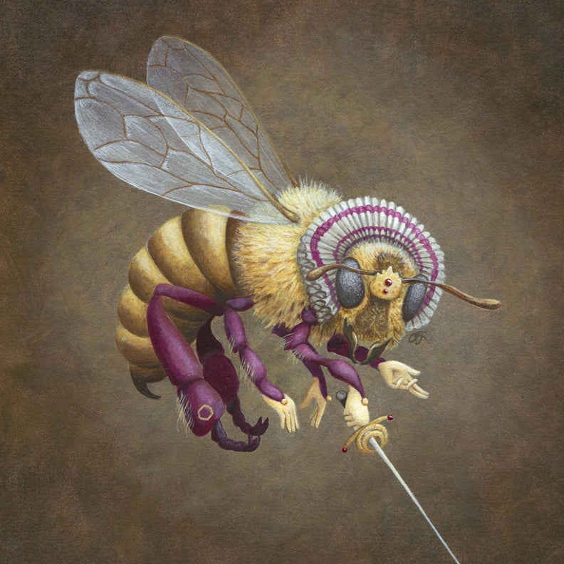 Image of Queen Bee 5x7 print