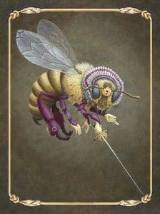 Image of Queen Bee vinyl sticker