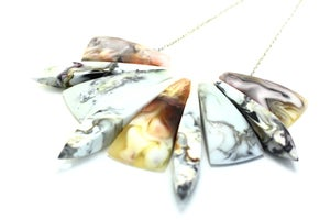 Image of Leopard Swirl Necklace