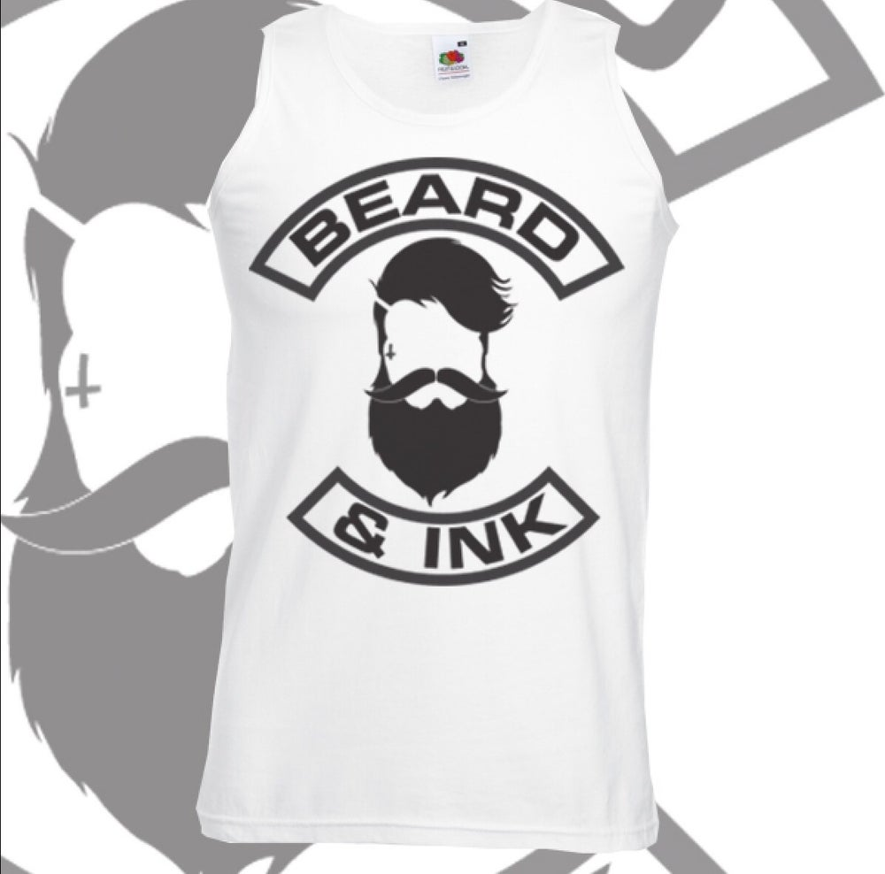 Image of Beard & Ink Front Logo Vest