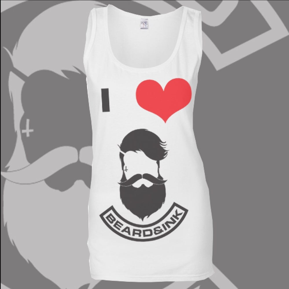 Image of I ❤️ Beard & Ink Front Logo Vest