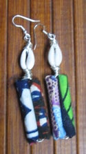 Fabric Stand-Up Ear-Rings