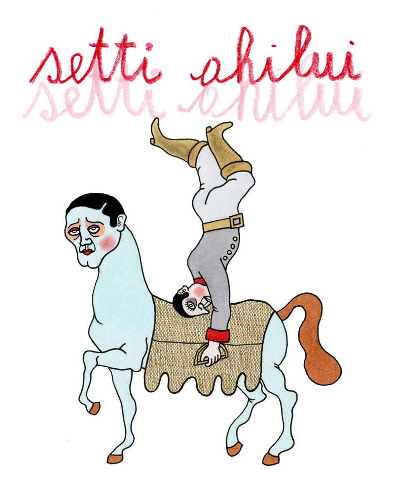 """Image of Setti """"Ahilui"""" CD digipack"""