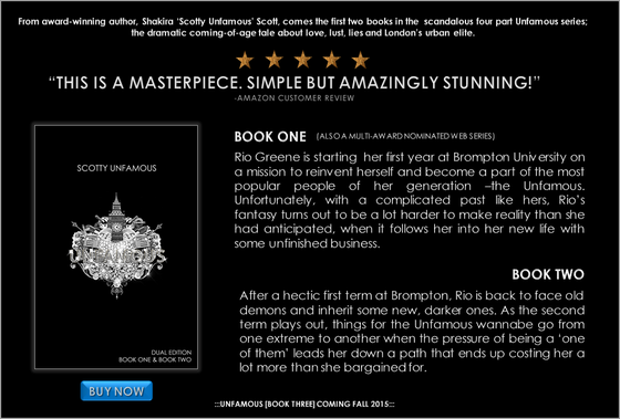 Image of UNFAMOUS: DUAL EDITION [BOOK ONE & BOOK TWO] - SIGNED COPY