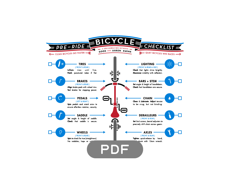 Image of Bicycle Pre-Ride Checklist