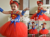 Image of Super Man Tutu Dress
