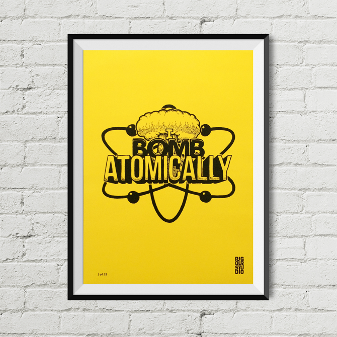 Image of Wu-Tang Bomb Print - Limited Edition of 25