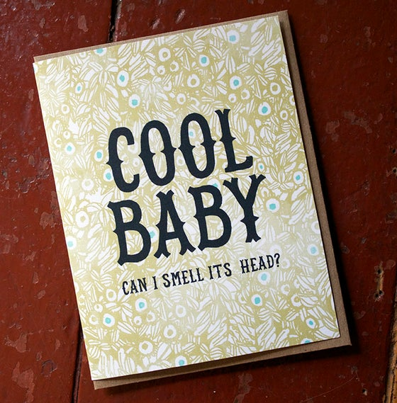 Image of Cool Baby. Can I smell its Head?