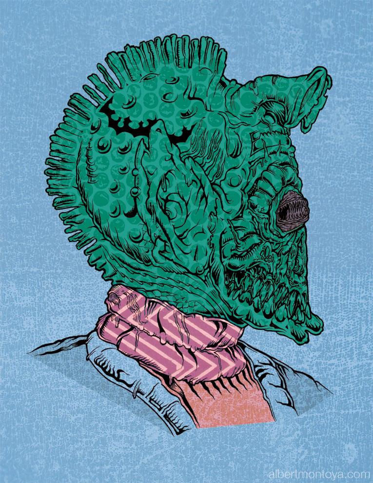"""Image of Print """"Zreedo"""""""