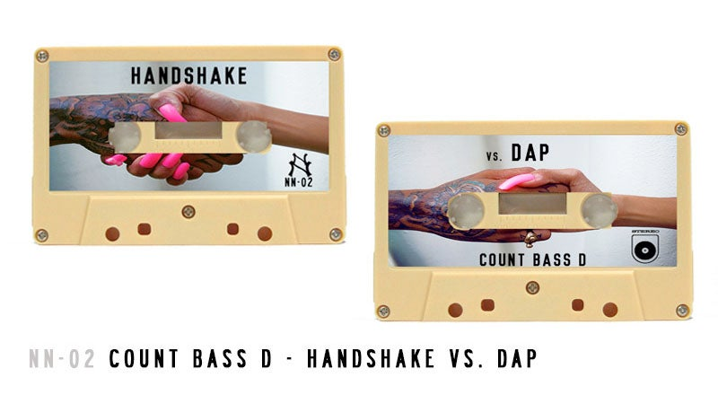 Image of NN-02 | Count Bass D Handshake Vs. Dap Cassette [Gold Tape]