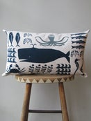 Image of SWIMMING IN THE SEA CUSHION #9
