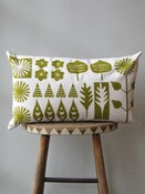 Image of WALKING IN THE WOODS CUSHION #9