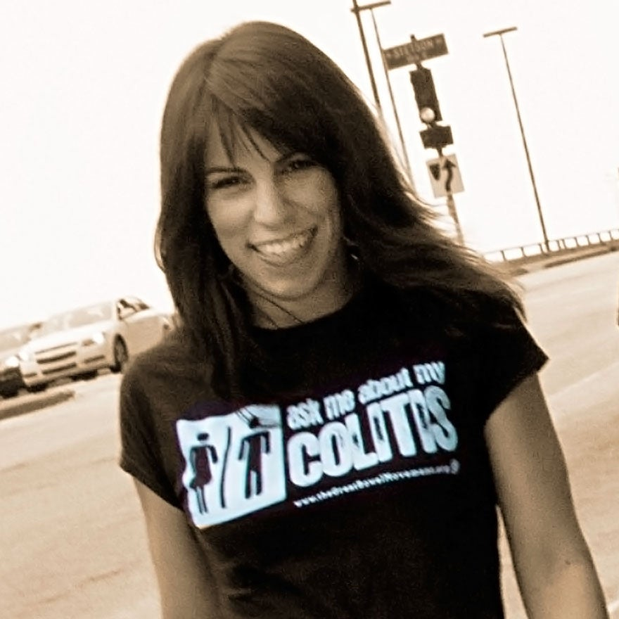 Image of Ask Me About My Colitis T-Shirt - Women's