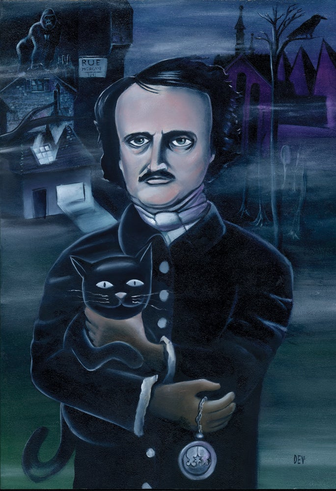 Image of Poe (Fine Art Print)