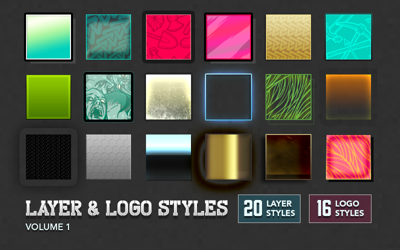 Image of Layer & Logo Styles Volume 1
