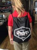 Image of Skandalous INC Nylon Drawstring Backpack...