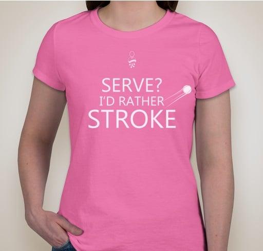 Image of Serve or Stroke (female)