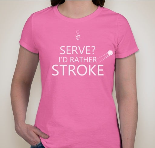 Image of Serve or Stroke (female)