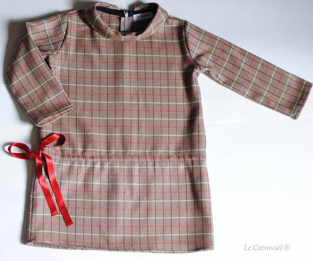 Image of - THE LAST PIECE -Robe / Dress GARANCE - Coton - AW14