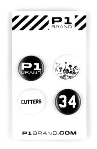 "Image of ""Cutters"" Button Set (P1B-A0551)"