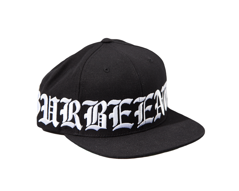 Image of SSUR x BEEN TRILL - Crown Snapback (Black/White)