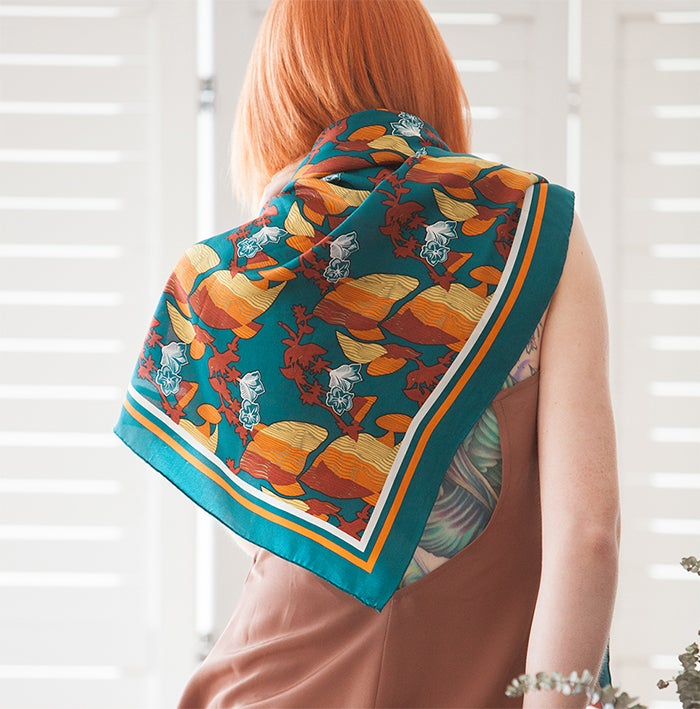 Image of La Lió Silk Scarf