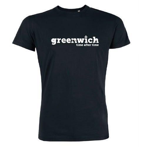 Image of Men's Black Greenwich T-Shirt