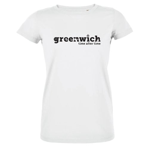 Image of Women's White Greenwich T-Shirt