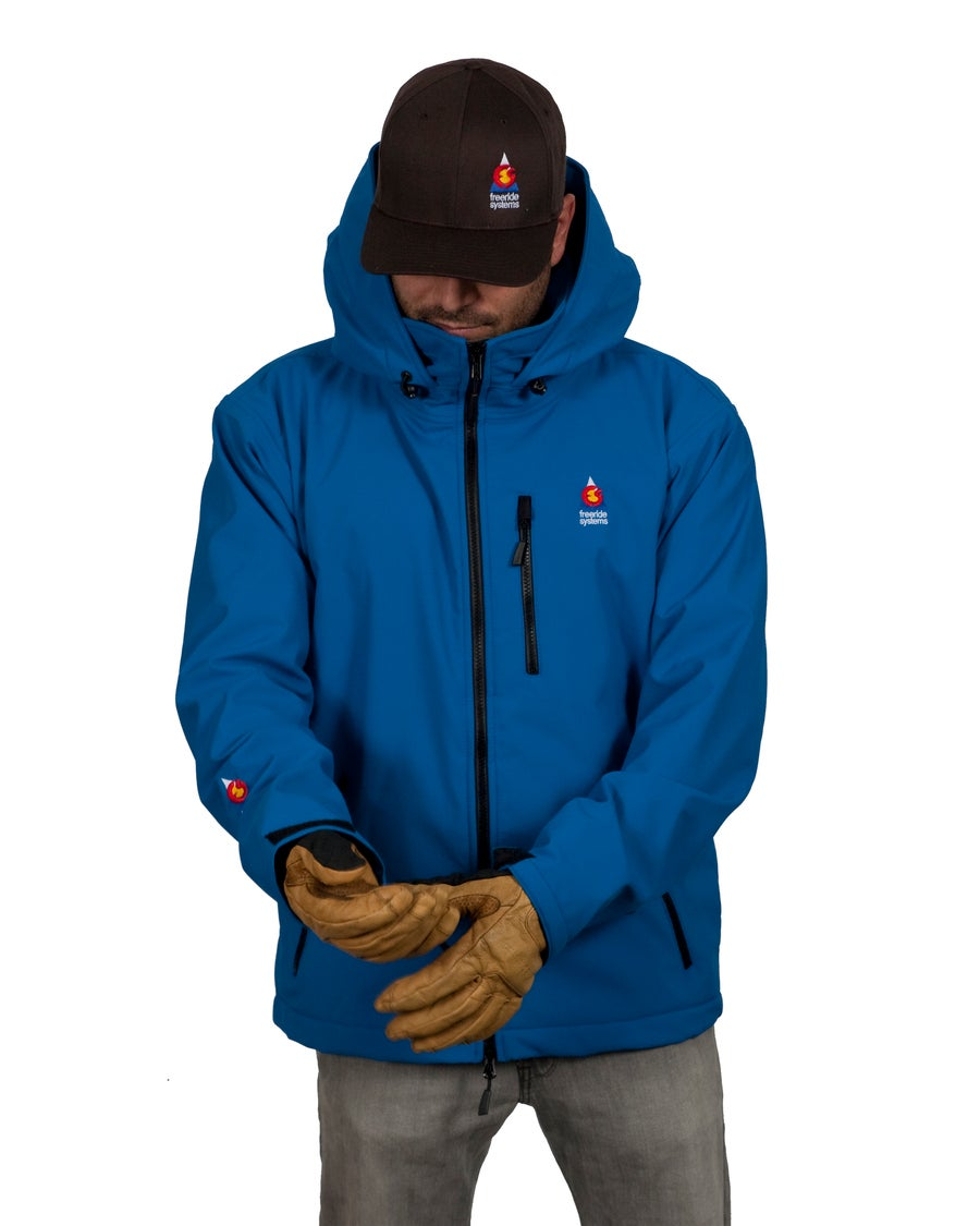 Image of Antero II Polartec Belgian Blue Polartec Made in Colorado