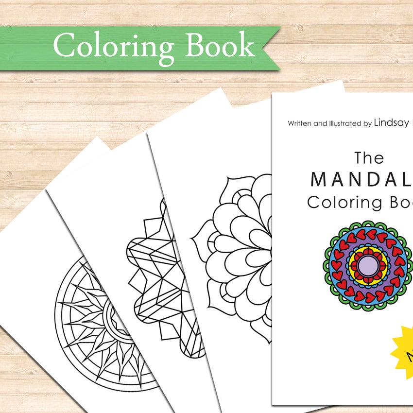 Image of The Mandala Coloring Book