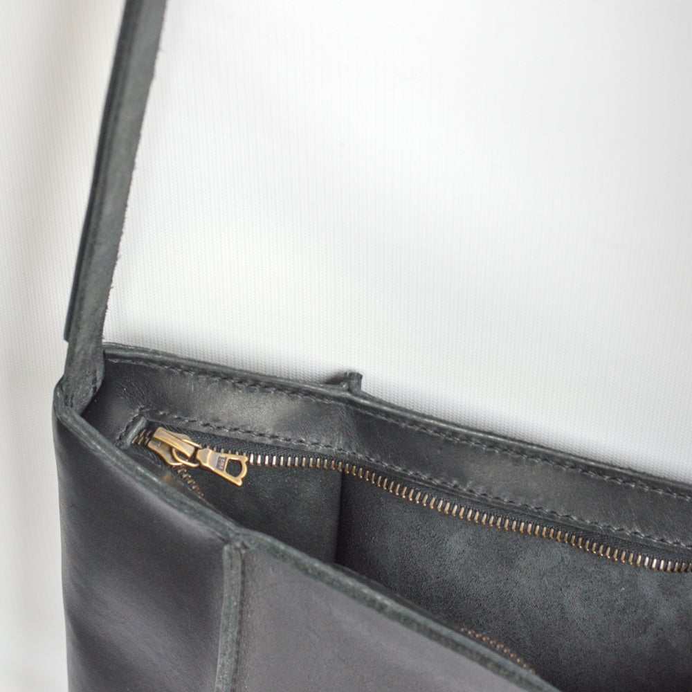 Image of Pentagon Shoulder Bag in Black