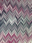 Image of Pattern #58 small maroon chevron design
