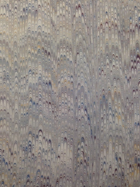 Image of Marbled Paper #39 traditional muted non pareil