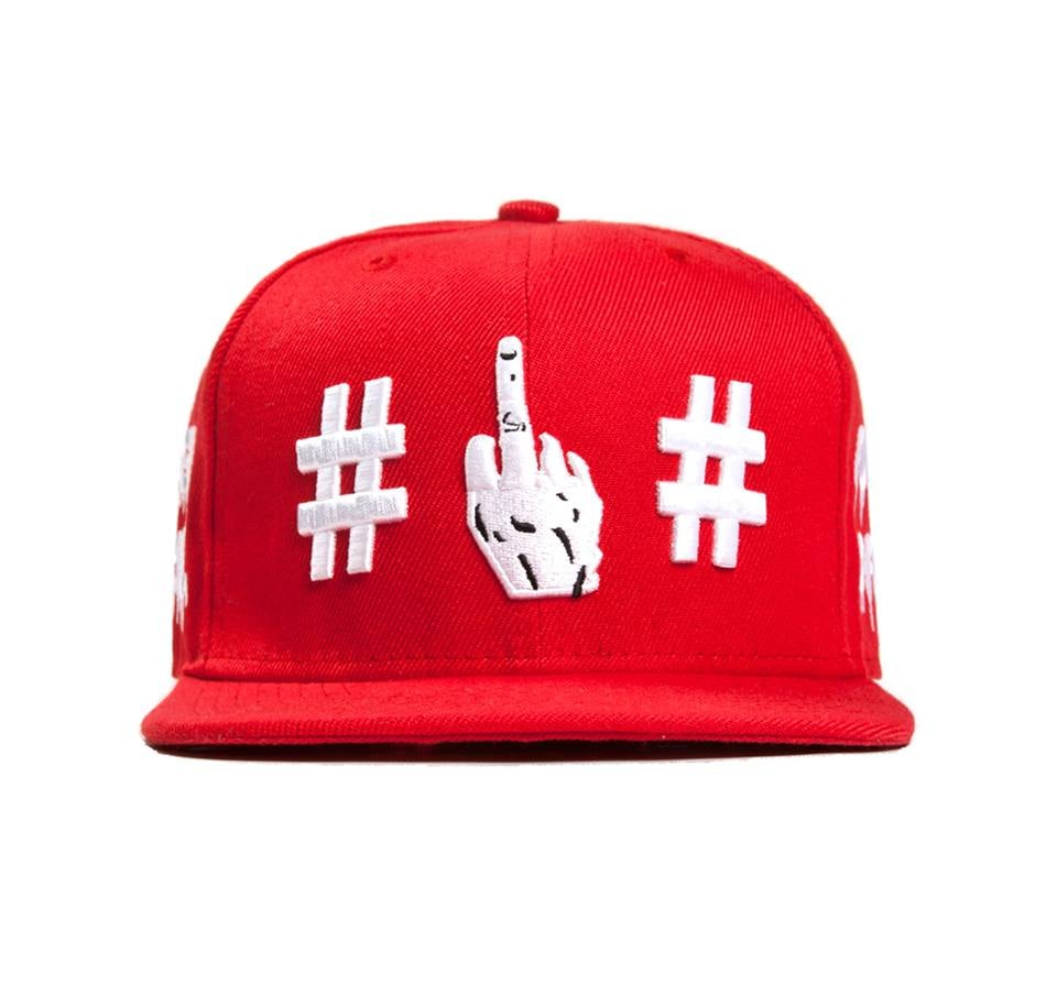 00379aae145 Been Trill - Fuck off Snapback (Red)  JUICE (CLOT) EDITION