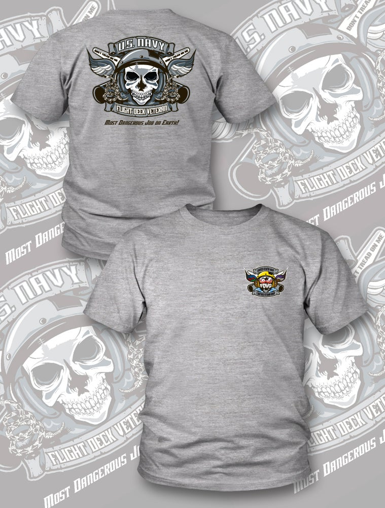 "Image of NEW ""Grey"" Reaper Tee"