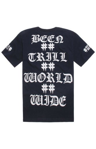 Image of Been Trill - ##WorldWide## Tee (Dark Navy)