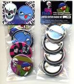 Image of eye never sleep & epp 4 button pack
