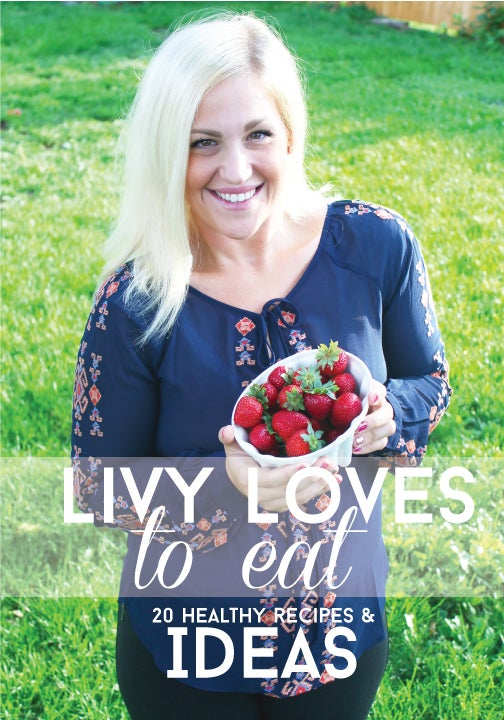 Image of Livy Loves to Eat Recipe book