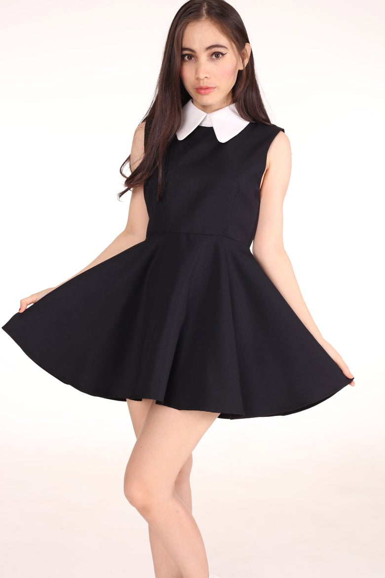 Image of In Stock - Sleeveless Gothic Alice Dress